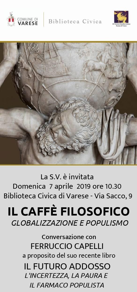 Il Caffè Filosofico - Globalizzazione e populismo