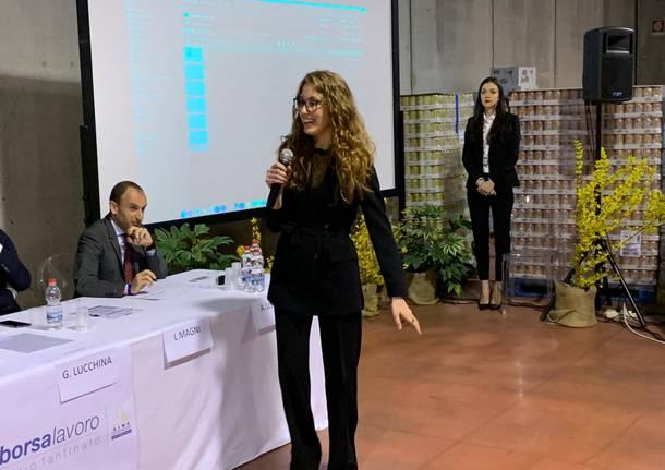 Casciago: la cerimonia di consegna della Borsa Lavoro Dario Fantinato