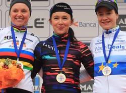 ciclismo femminile trofeo binda podio 2018