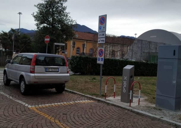 Coloninne auto Luino