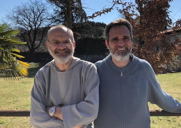 I frati della Fraternità Francescana di Betania all'Eremo