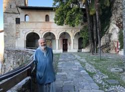 Eremo di Santa Caterina del Sasso, i frati