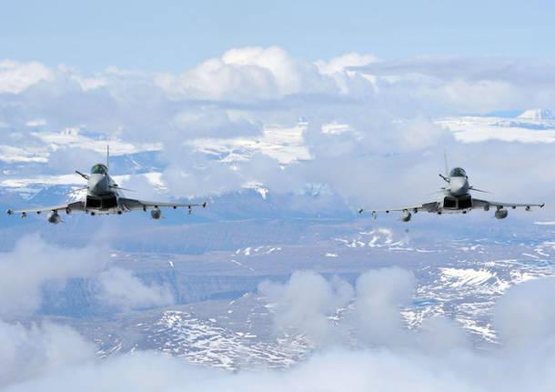 eurofighter aeronautica militare italiana aerei caccia bang sonico