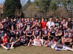 football americano skorpions varese 2019 - foto amanda deni rosso tibet