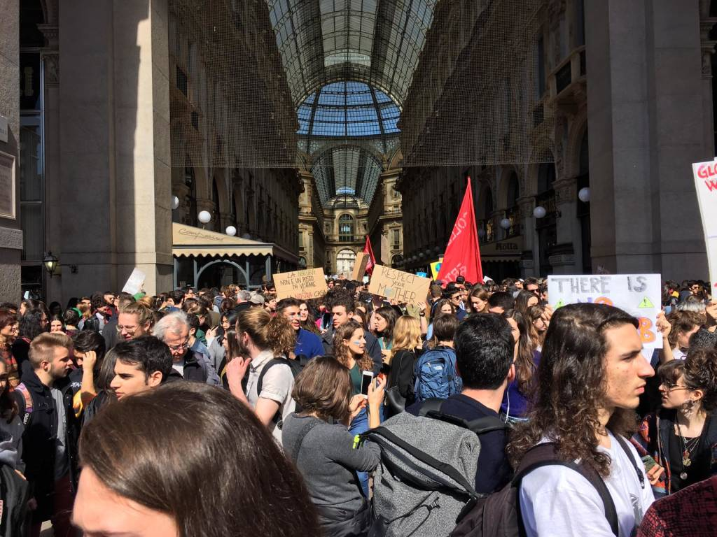 Fridays for future: il corteo