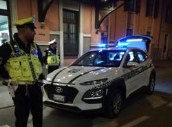 polizia locale controlli notte