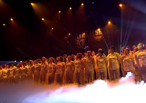 Il Coro Divertimento Vocale alle semifinali di Italia's Got Talent