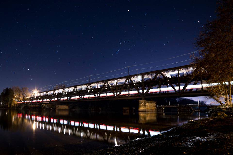Il ponte sul Ticino a Sesto Calende luca verga