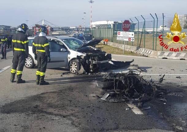 Incidente mortale all'area cargo di Malpensa