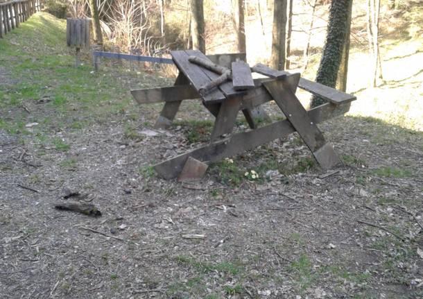 Incivili al parco dell'Argentera