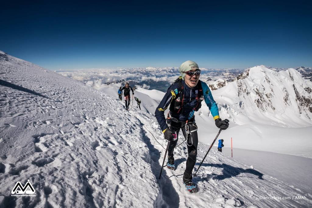La skymarathon più alta d'Europa