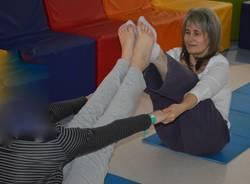 Lavori della sala giochi in neuropsichiatria infantile al Del Ponte
