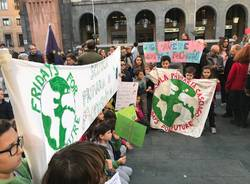 Manifestazione Friday for Future a Varese