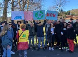 Manifestazione per il clima Laveno Mombello