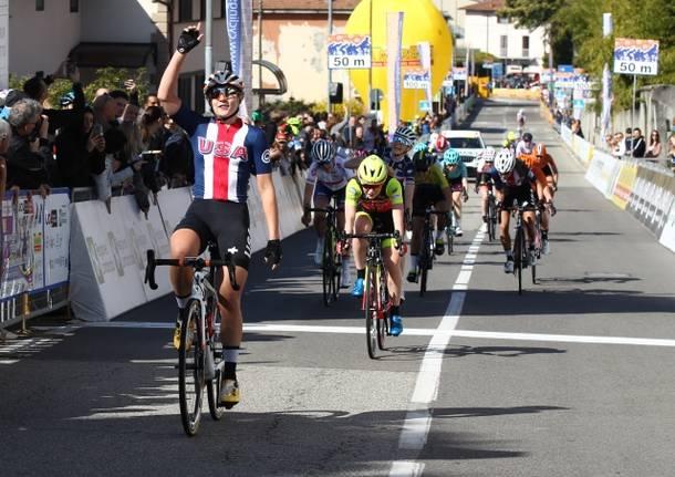Megan Jabstrab trofeo da moreno piccolo binda ciclismo