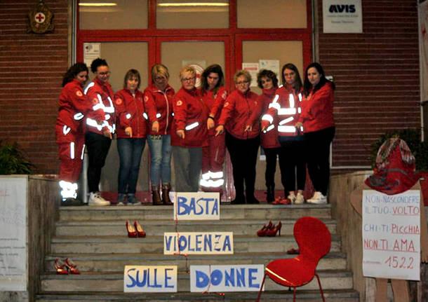 No alla violenza - Cri Valceresio