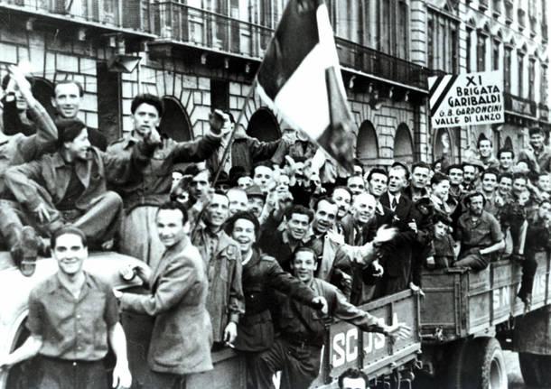 Partigiani 25 aprile 1945