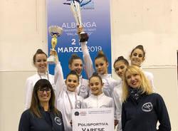 polisportiva varese asd ginnastica ritmica 2019