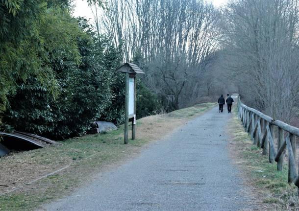 posteria di torba paola zanotto pista ciclabile valle olona