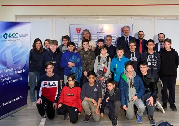 Presentazione Pallacanestro Varese School Cup