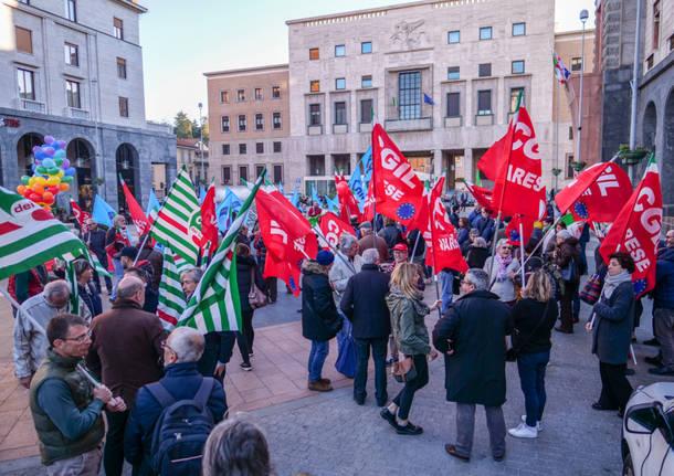 Presidio antifascista in piazza