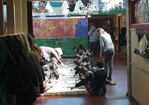 progetto artistico alla scuola primaria di daverio