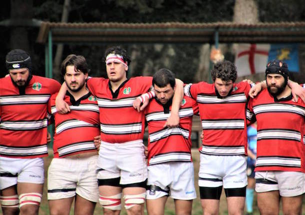 rugby varese rugby lecco 2019 minuto di silenzio