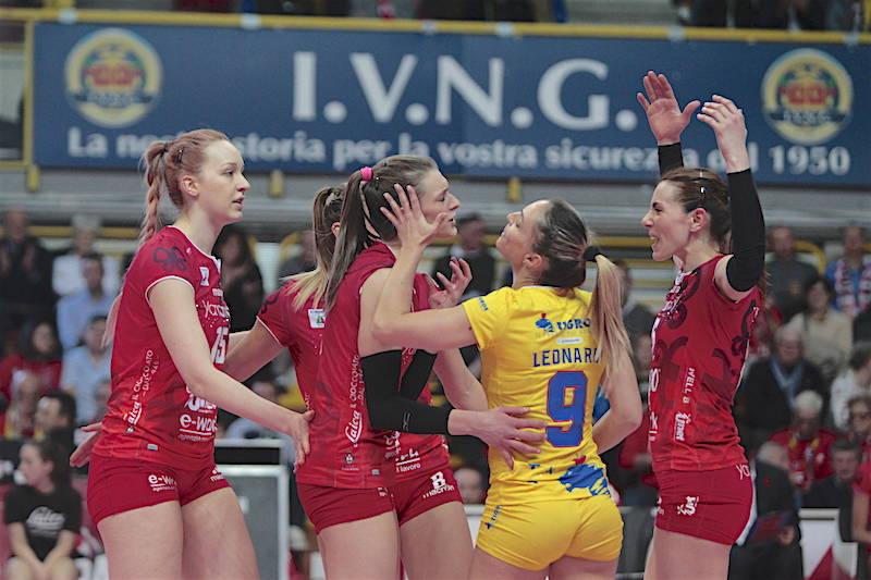 UYBA - Brescia 3-0