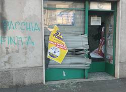 vandalismo sede lega fagnano olona marzo 2019