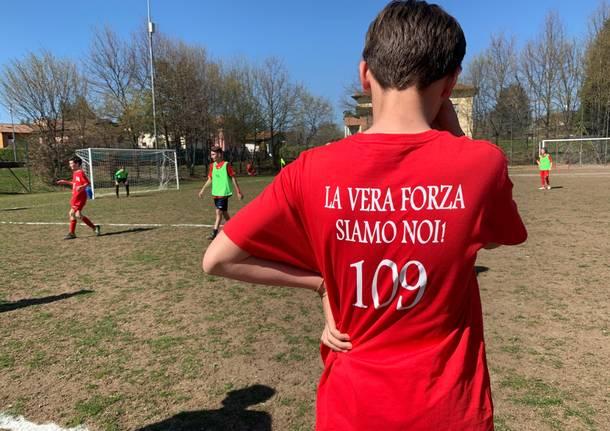 Varesello, la festa per i 109 anni del Calcio Varese