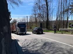 Vedano Olona -Camion guasto