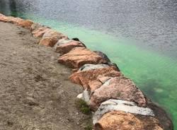 Acqua verde a Porto Ceresio