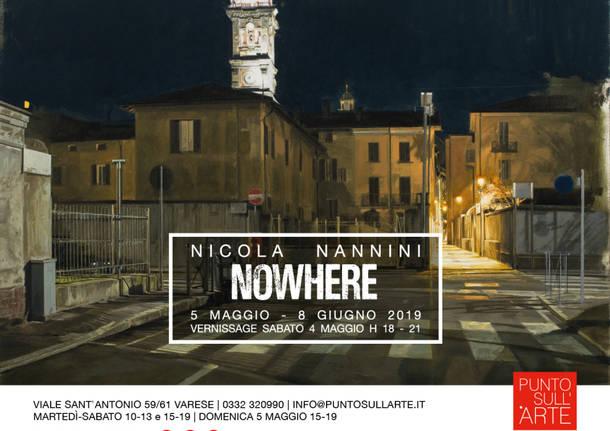 NOWHERE - NICOLA NANNINI