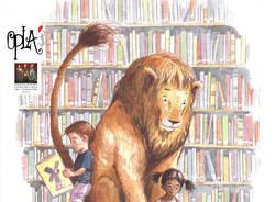 Teatro nei cortili - Un leone in biblioteca