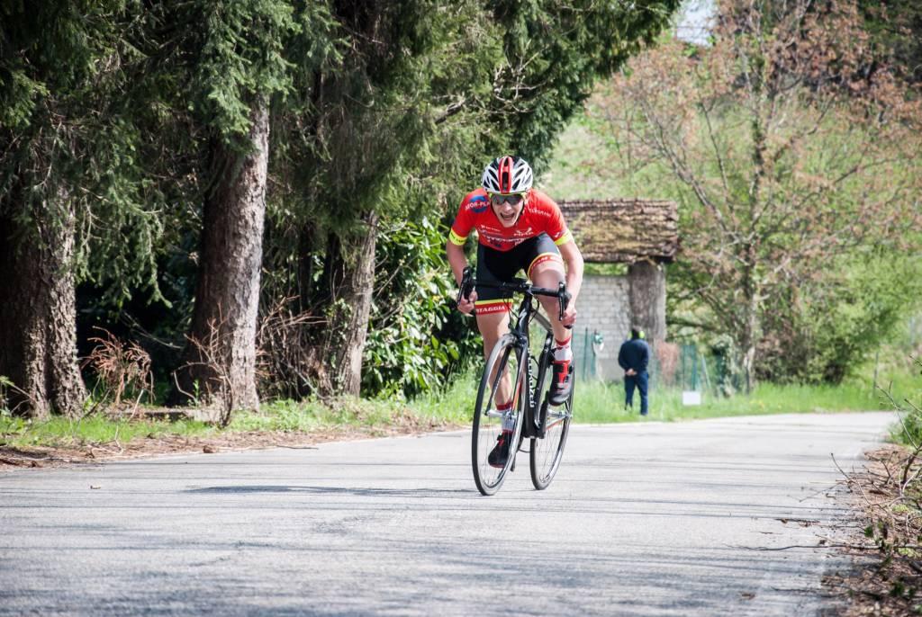 Ciclismo cronoscalata Ardena allievi 2019