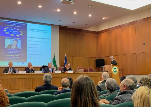 Cottarelli all'Insubria