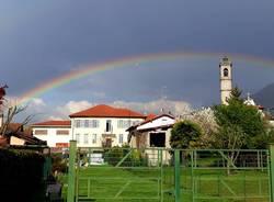 Dopo il temporale di oggi a Rancio Valcuvia