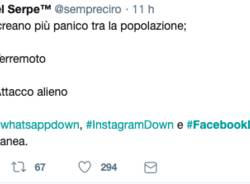 #facebookdown, i commenti su twitter
