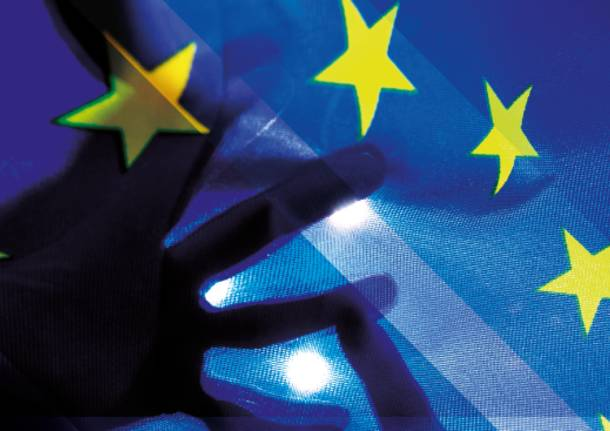 europa bandiera incontro