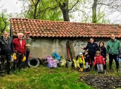 giornata verde pulito Cazzago Brabbia 2019