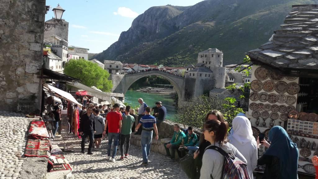 Gli studenti del Don Milani in Bosnia