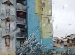 grattacielo busto arsizio danni maltempo