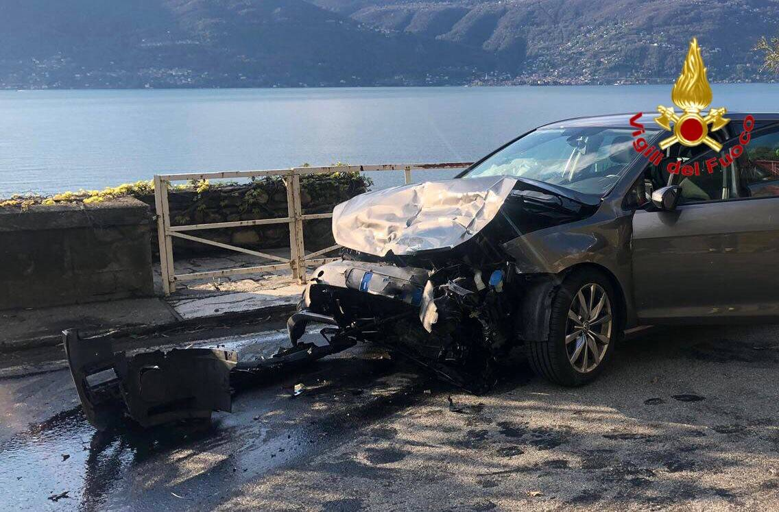 Incidente a Brezzo di Bedero