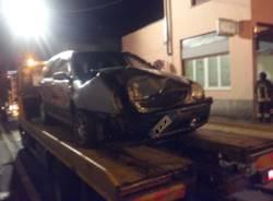 Incidente via Montenero Gallarate