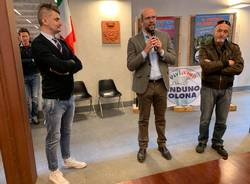 Induno Olona: presentazione Marco Cavallin