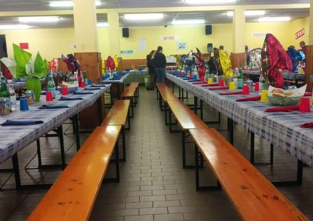 Il pranzo solidale di Exodus mette in tavola 200 invitati