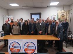 Presentazione candidato sindaco di Cardano al campo Sergio Biganzoli