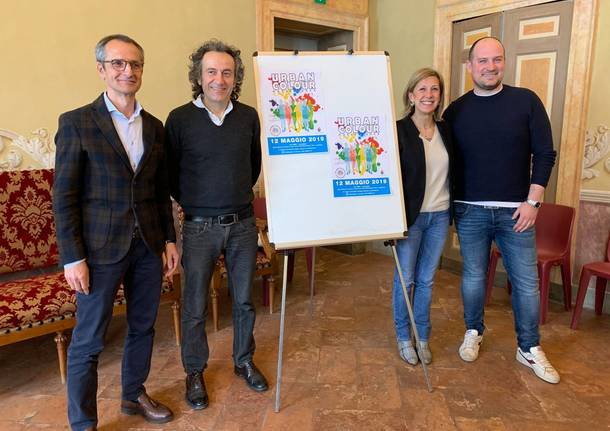 presentazione urban colour run 2019 stefano bosello