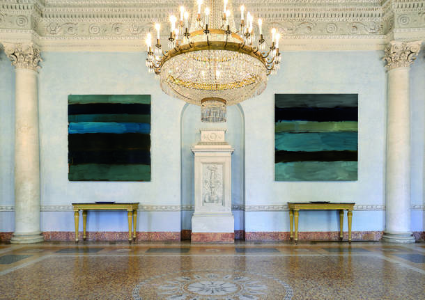 Sean Scully a Villa Panza