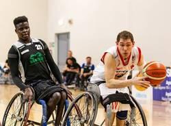 silva basket in carrozzina handicap sport varese